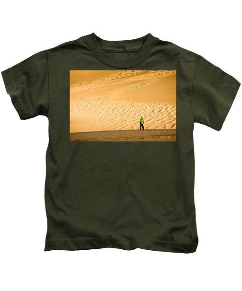 Solitude In The Dunes Kids T-Shirt