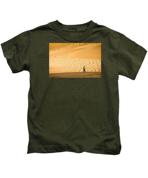 Solitude In The Dunes Kids T-Shirt