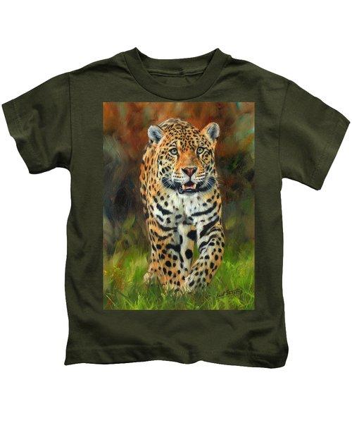 South American Jaguar Kids T-Shirt
