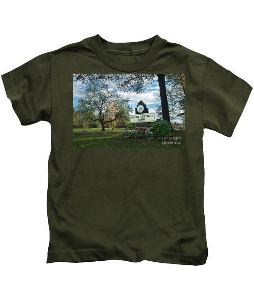 South Central Park - Autumn Kids T-Shirt