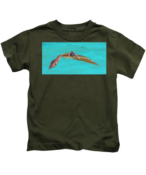 Southern Most Pelican Kids T-Shirt