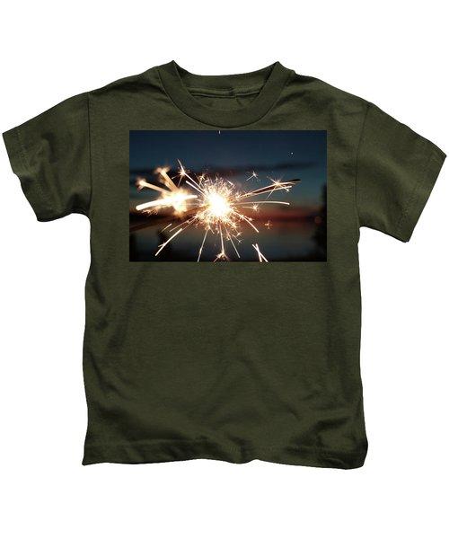 Sparklers After Sunset Kids T-Shirt