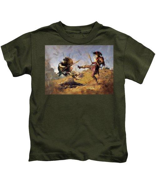 Spartan Hoplite - 12 Kids T-Shirt