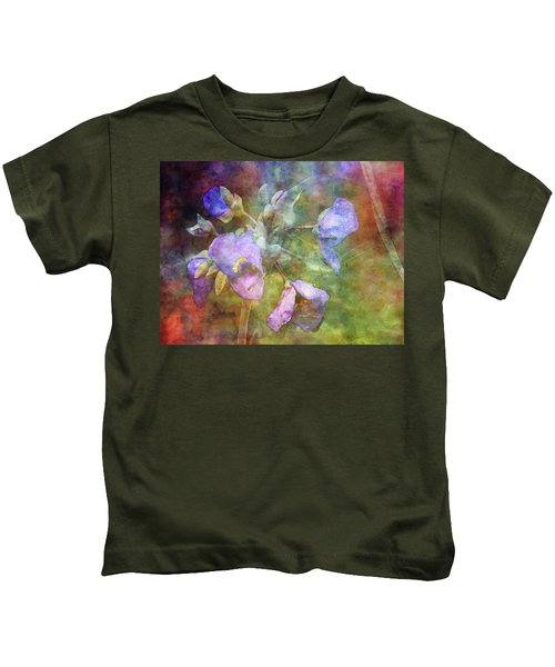 Spiderwort 1398 Idp_2 Kids T-Shirt