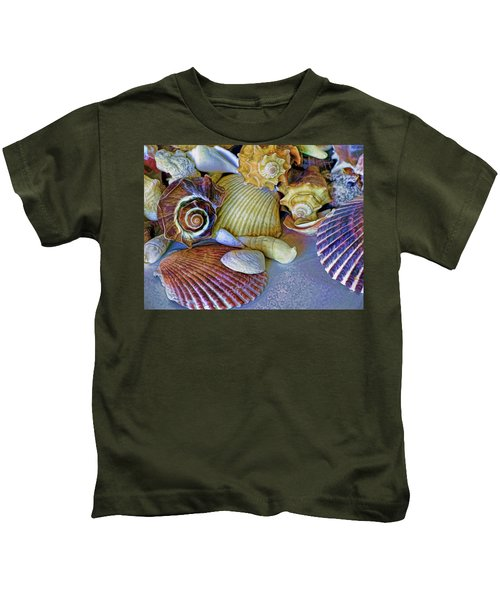 Spirals And Ridges 12 Kids T-Shirt