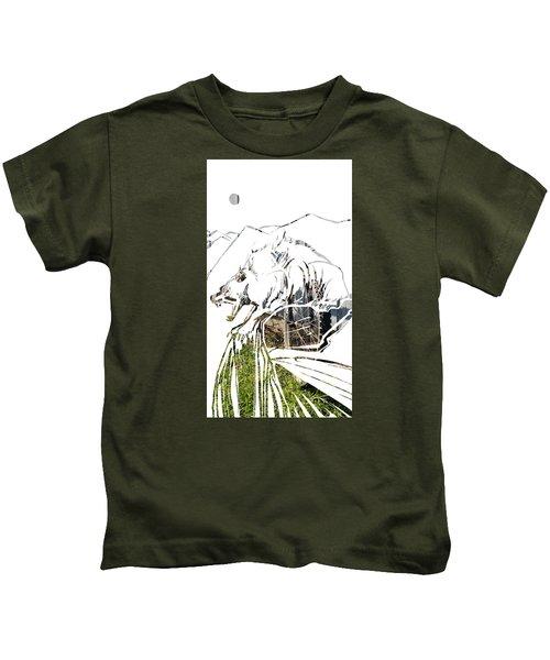 Spirit Animal . Wolverine Kids T-Shirt