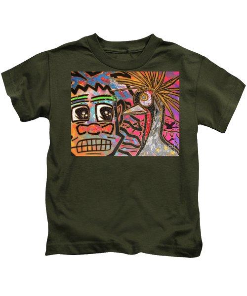 Spirit Guide Cranes Kids T-Shirt