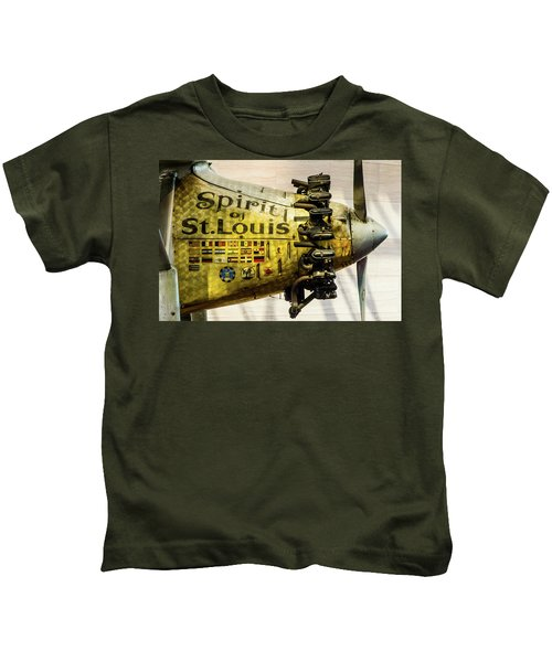 Spirit Of St Louis Kids T-Shirt