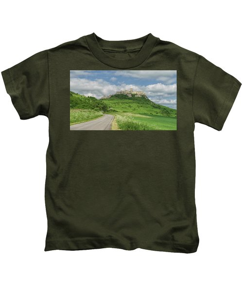 Spish Castle Kids T-Shirt