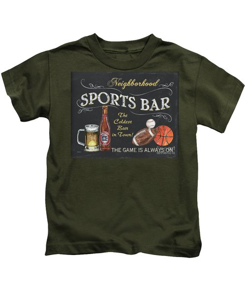 Sports Bar Kids T-Shirt