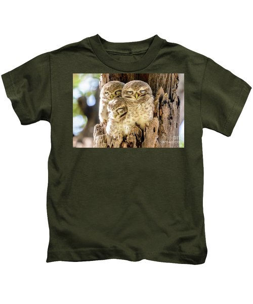 Spotted Owlets Kids T-Shirt
