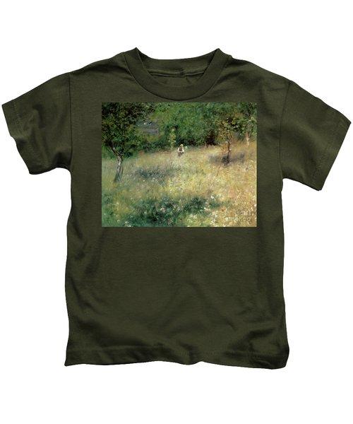 Spring At Chatou Kids T-Shirt