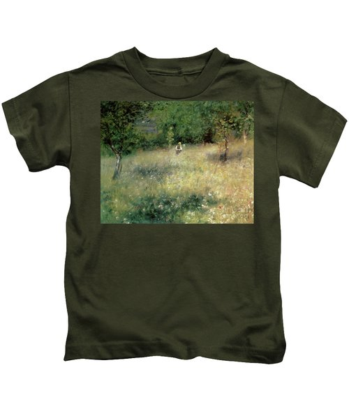 Spring At Chatou Kids T-Shirt