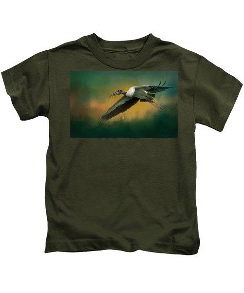 Spring Flight Kids T-Shirt