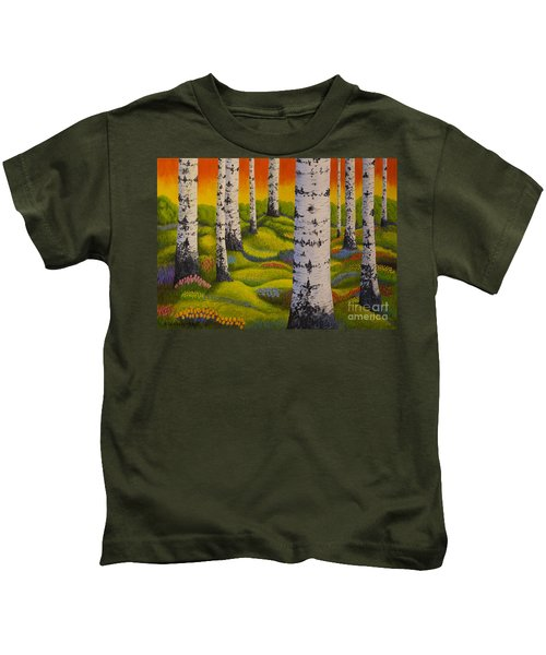 Spring Forest Kids T-Shirt