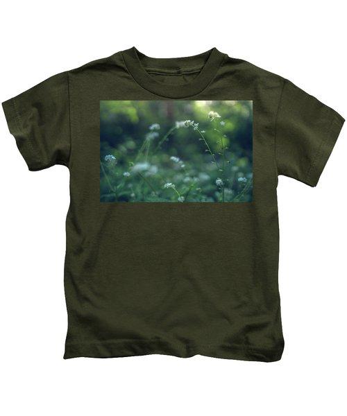 Spring Garden Scene #1 Kids T-Shirt