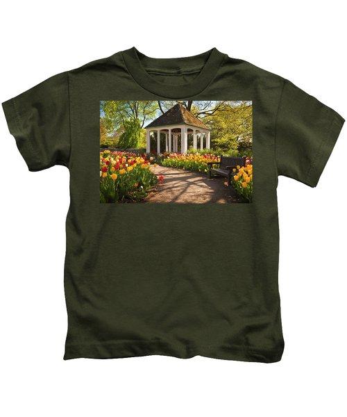 Spring Gazebo Kids T-Shirt