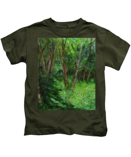 Spring In The Forest Kids T-Shirt
