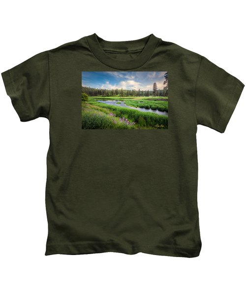 Spring River Valley Kids T-Shirt