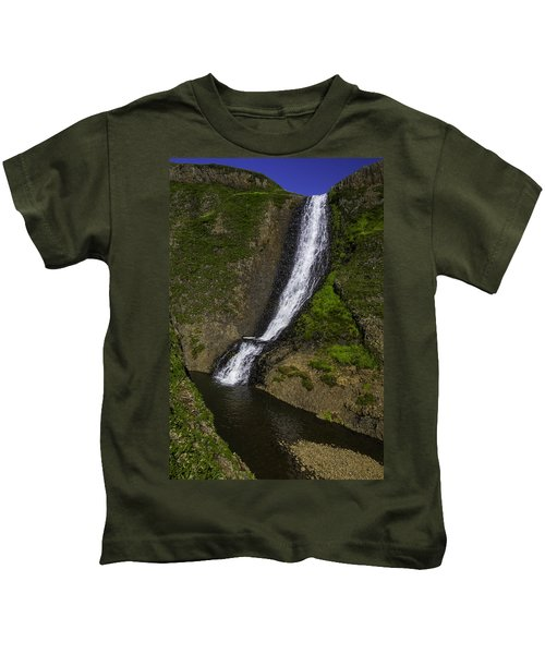 Spring Time Waterfall Kids T-Shirt