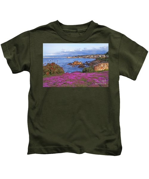 Springtime In Pacific Grove Kids T-Shirt