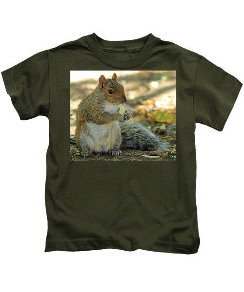 Squirrel Kids T-Shirt by Anne Venissac