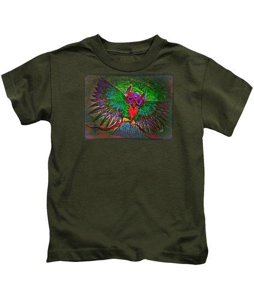 Ss Owl Kids T-Shirt