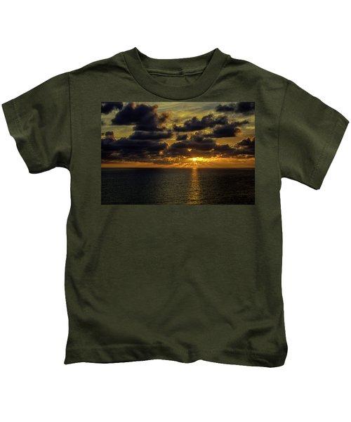 St. Pete Sunset Kids T-Shirt