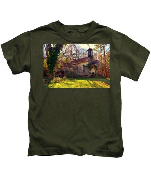 St Simon Church Peak Sc Kids T-Shirt