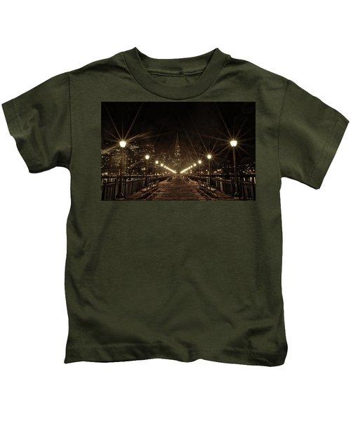 Starburst Lights Kids T-Shirt