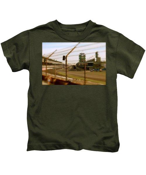 Start Finish Indianapolis Motor Speedway Kids T-Shirt