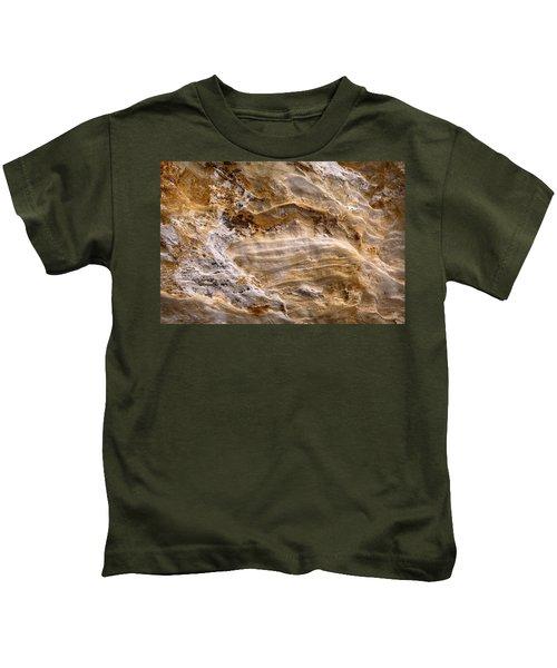 Starvedrocksandstonepatterns Kids T-Shirt
