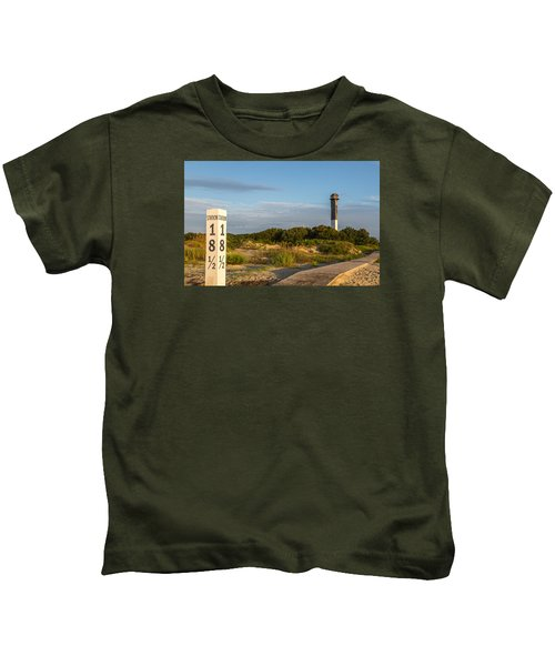 Station 18 1/2 On Sullivan's Island Kids T-Shirt
