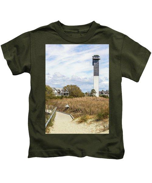 Station 18 On Sullivan's Island, Sc Kids T-Shirt