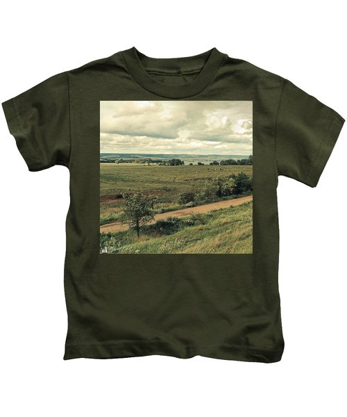 Stausee Kelbra  #nature  #flowers Kids T-Shirt
