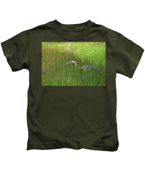 Stealth Heron Kids T-Shirt