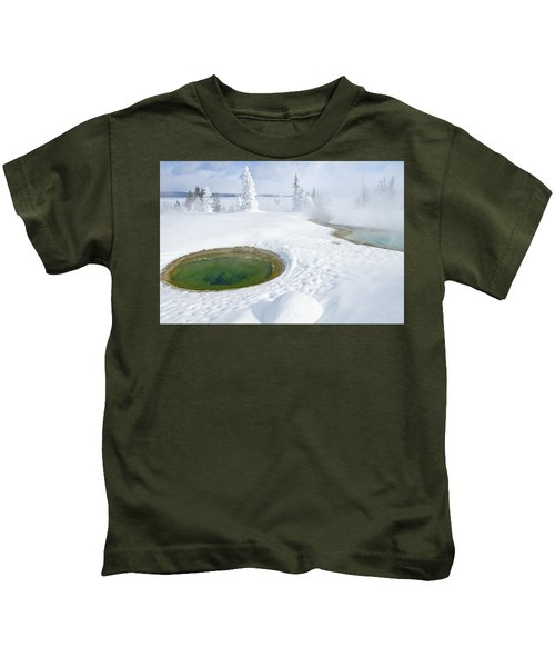 Steam And Snow Kids T-Shirt