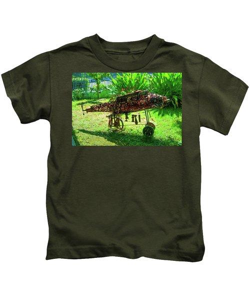 Steampunk From Mozambique Civil War Kids T-Shirt