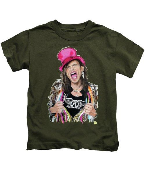 Steven Tyler 2 Kids T-Shirt