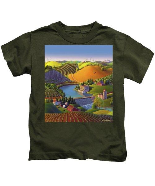 Stone City West Kids T-Shirt