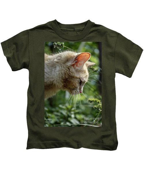 Stop And Smell The Flowers 9433a Kids T-Shirt