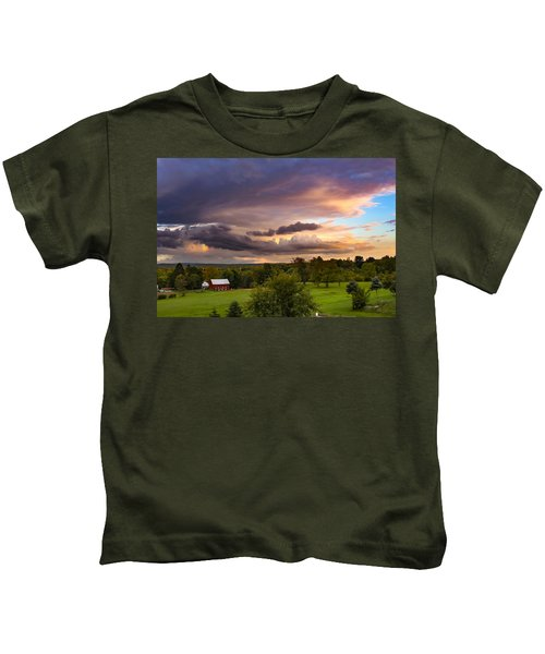 Stormy Clouds Kids T-Shirt