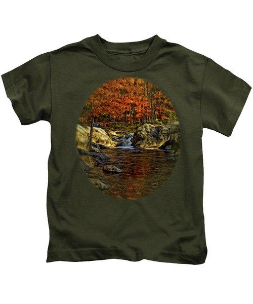 Stream In Autumn 57 In Oil Kids T-Shirt