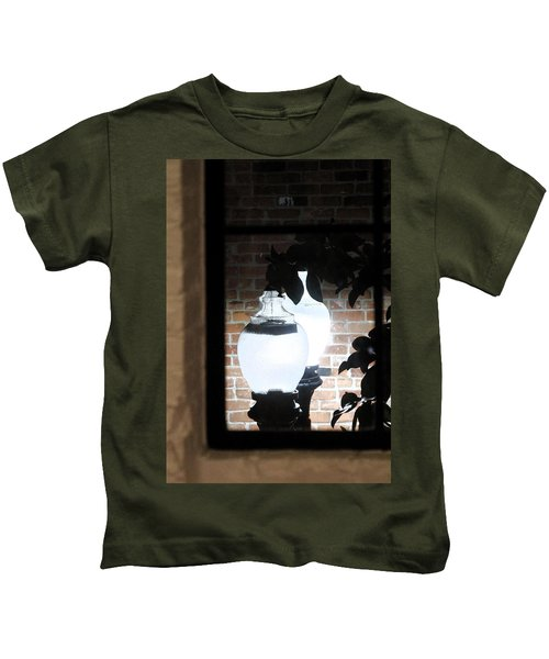 Street Light Through Window Kids T-Shirt
