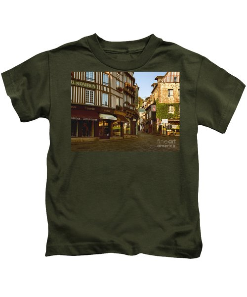 Streets Of Honfleur Kids T-Shirt