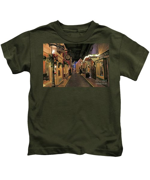 Streets Of Old Milwaukee Kids T-Shirt