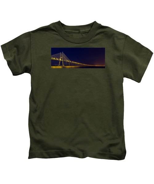 Stretching Into Infinity Kids T-Shirt
