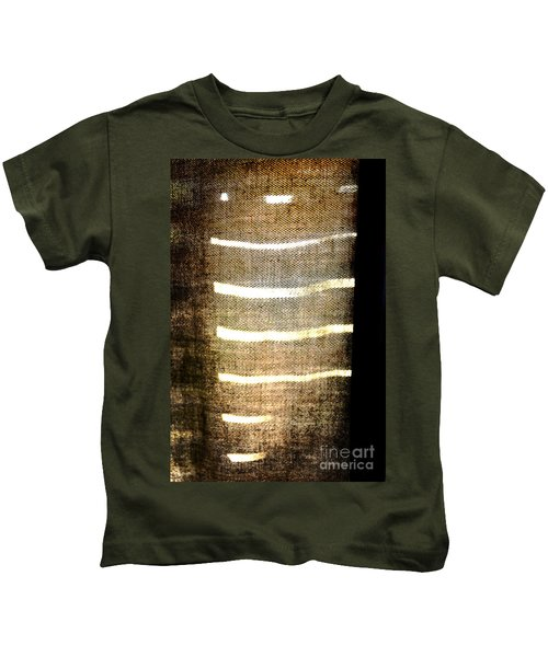 Stripes And Texture Kids T-Shirt