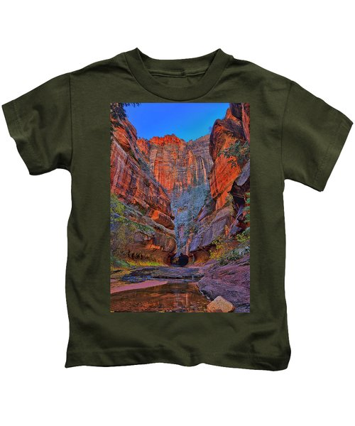 Subway Entrance Kids T-Shirt