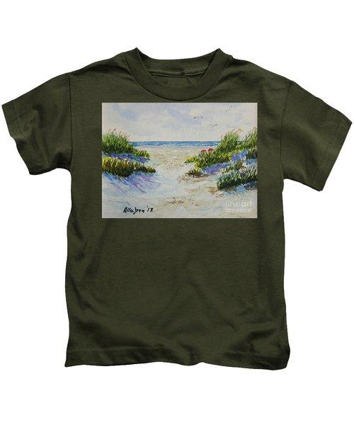 Summer Beach Kids T-Shirt
